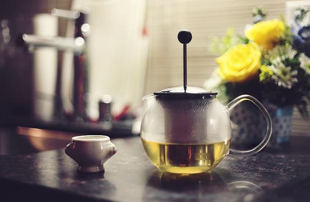 herbata w zaparzaczu