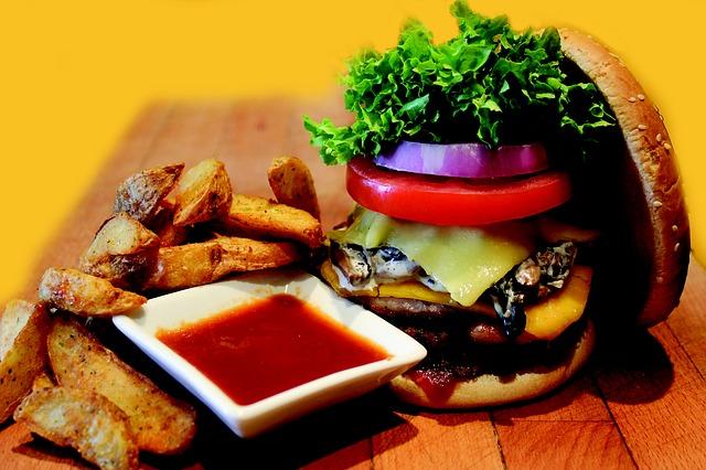 hamburger wypasiony